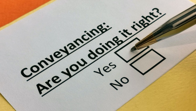 What are the current issues with the conveyancing process?
